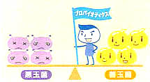 体質改善,歯槽膿漏,歯周病,口臭治療,乳酸菌LS1-2
