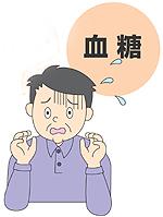 歯槽膿漏,歯周病と糖尿病絵