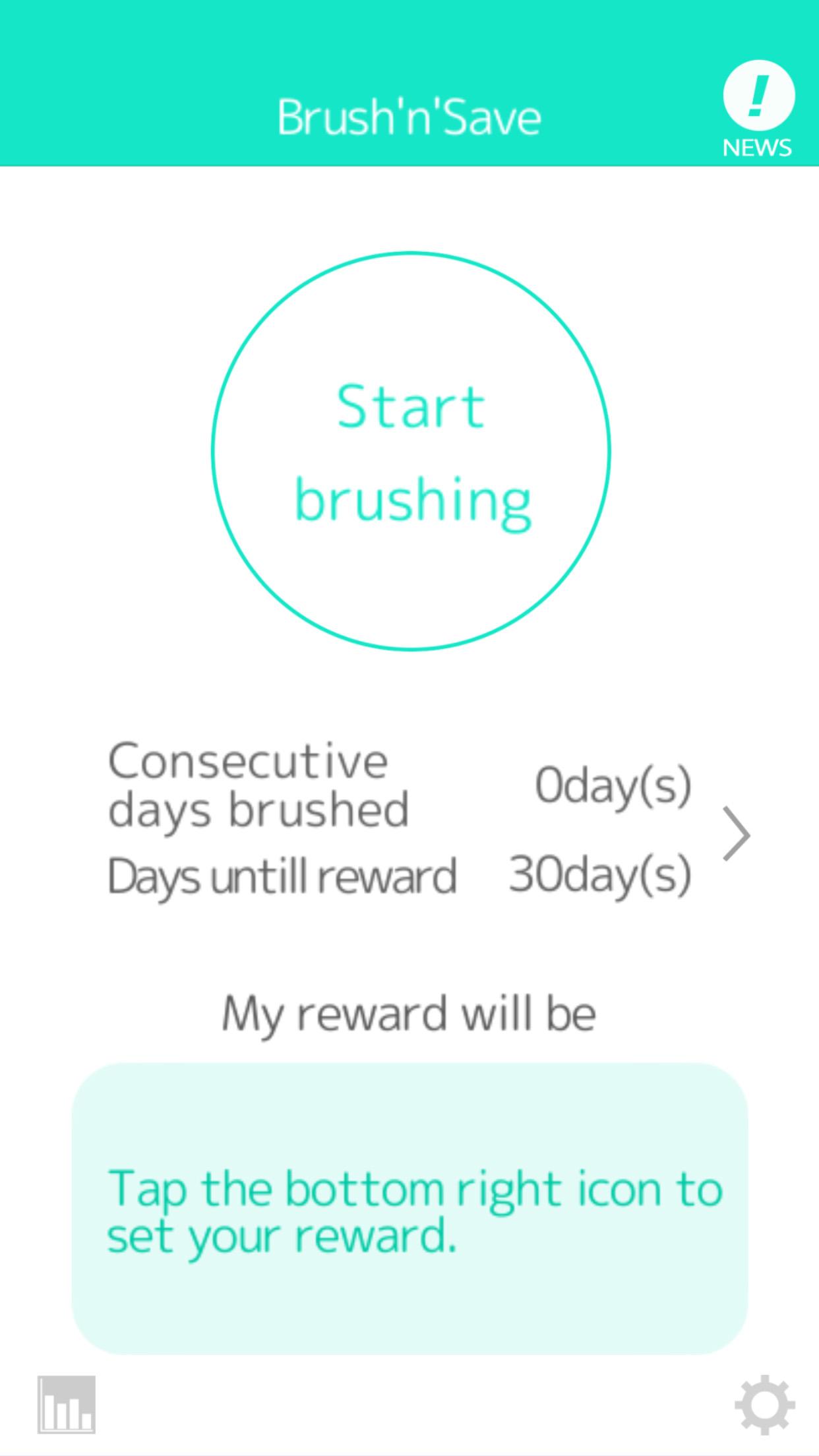 Brush'n'Save Usage/Start brushing1