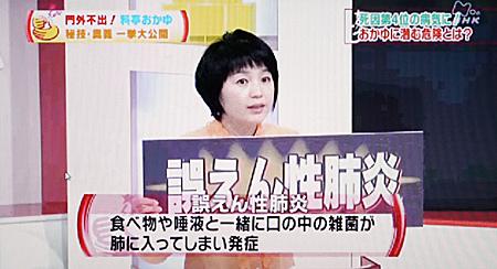 誤嚥性肺炎/誤えん性肺炎2