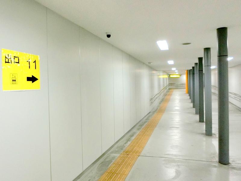 東京都虎ノ門の天野歯科医院乗降口