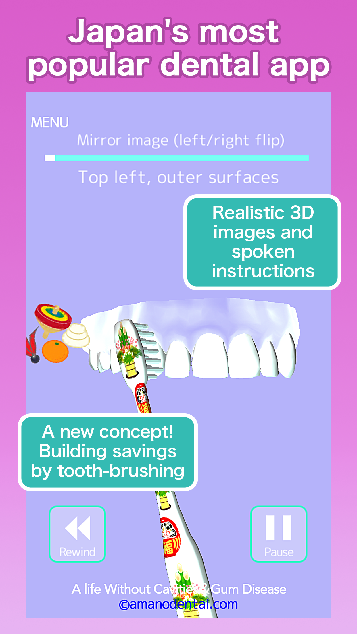 Tooth Brushing App