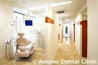 東京都港区虎ノ門の天野歯科医院診療室
